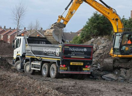 Scania XT Loadmaster Lite Tippers Join Holystone Engineering