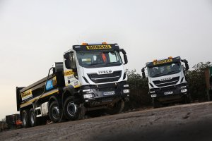 Brocks Haulage take nine 32-tonne IVECO Stralis X-Way tippers, each specified for off-road missions