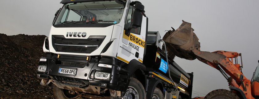 IVECO's Stralis X-Way the Perfect Match for Brocks Haulage