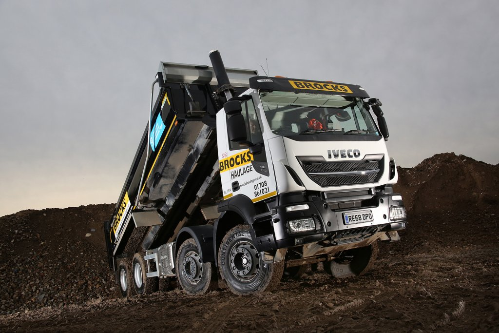 IVECO's Stralis X-Way Proves the Perfect Match for Brocks Haulage