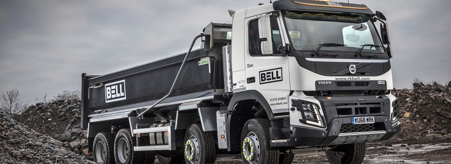 New Volvo FMX Destined to Ring the Changes for RK Bell