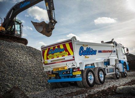 Collins Earthworks Transport Volvo FMX Rigid