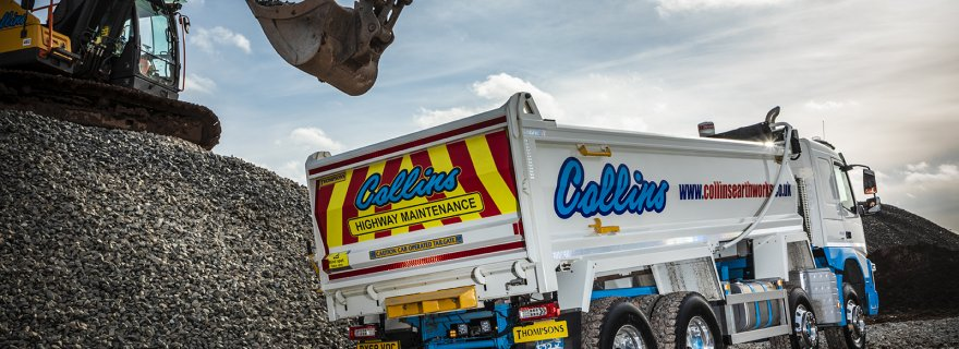 Collins Earthworks Transport Volvo FMX Rigid