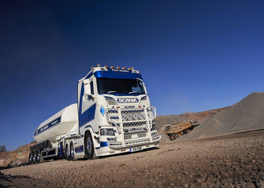 Tom Hobbs Masterstroke in Truck Customisation