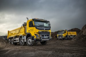 Cheshire Demolition Can't Knock Volvo's FMX Rigids