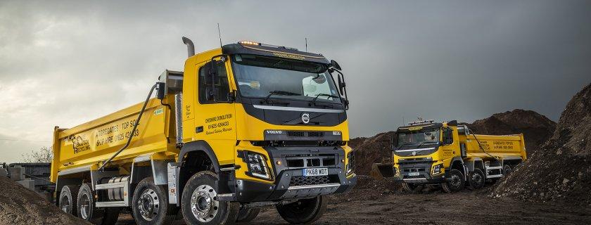 Cheshire Demolition Can't Knock Volvo's FMX Rigids