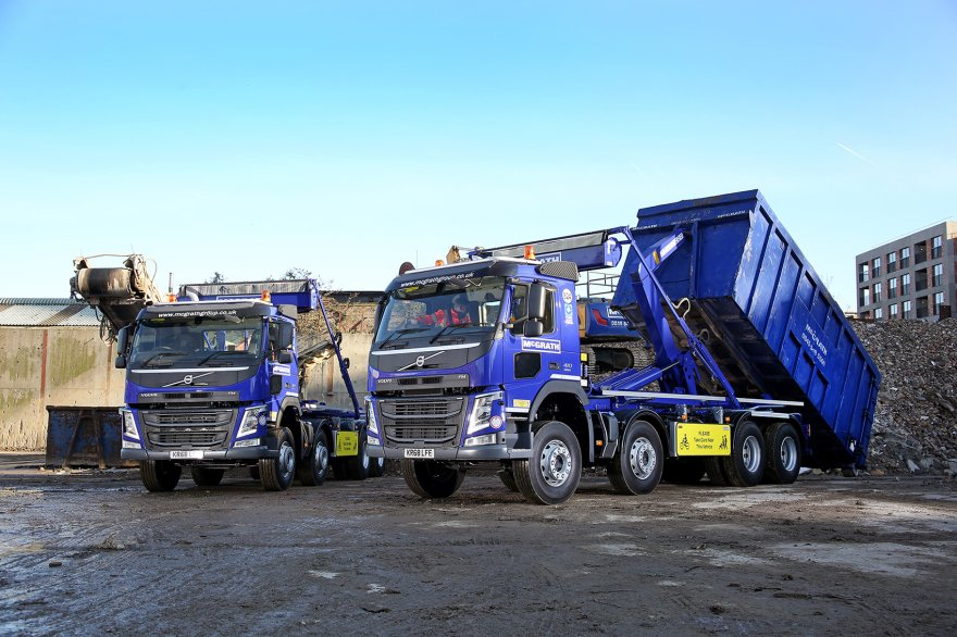 New Volvo Quartet Boosts McGrath Group's Vehicle Fleet