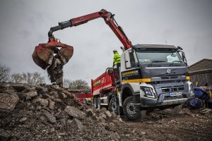 Earthworks UK Lands their First New Truck: a Volvo FMX