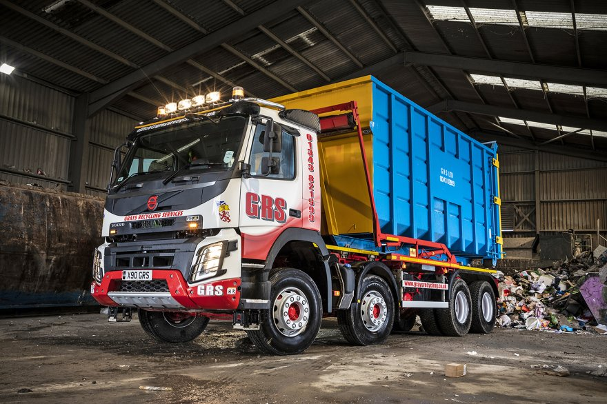 Volvo's Service Levels Seal the Deal for Grays Recycling Services