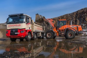 New Range C and T Rock up at Loughran Rock Industries