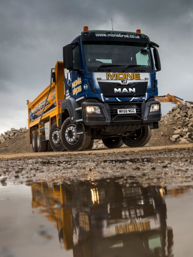 Mone Brothers add MAN to Their Tipper Fleet