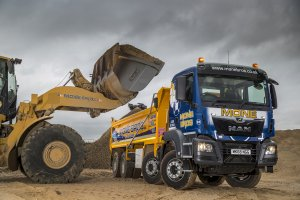 MAN Tippers for Mone Brothers Leeds Fleet