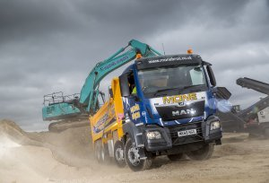 MAN Tippers Join Mone Brothers Fleet