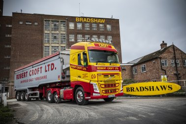 Robert Croft Transport Deliver to Bradshaws