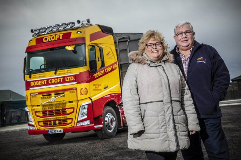 Robert Croft Celebrate 10 Years with Volvo