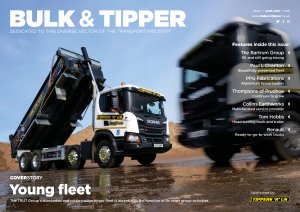 Bulk & Tipper Issue One Front Cover