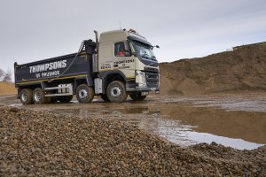 Kevin Swallow Visits Thompsons of Prudhoe for Bulk & Tipper Torque
