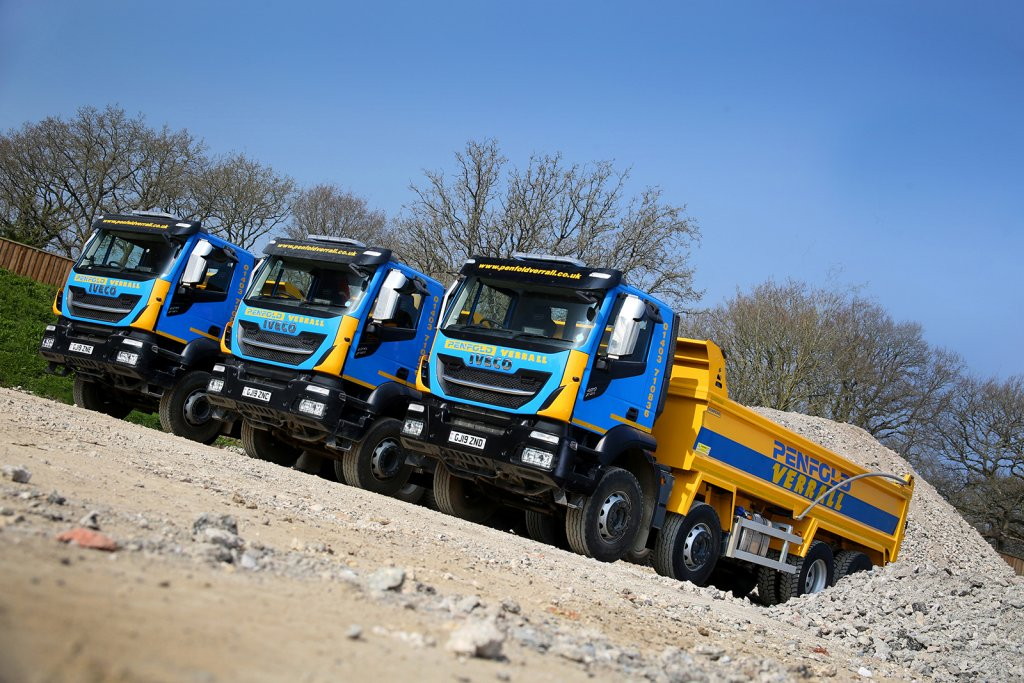 IVECO grows share of Penfold Verrall fleet with first Stralis X-Way tippers