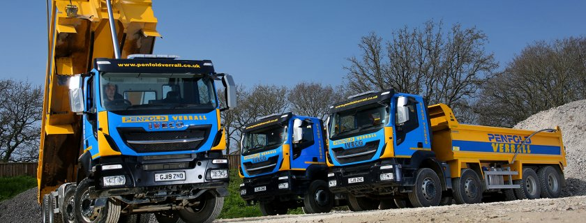 Penfold Verrall Fleet Introduce IVECO Stralis X-Way Tippers