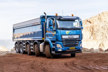 Bulk & Tipper Issue Two: DAF Trucks Ride and Drive