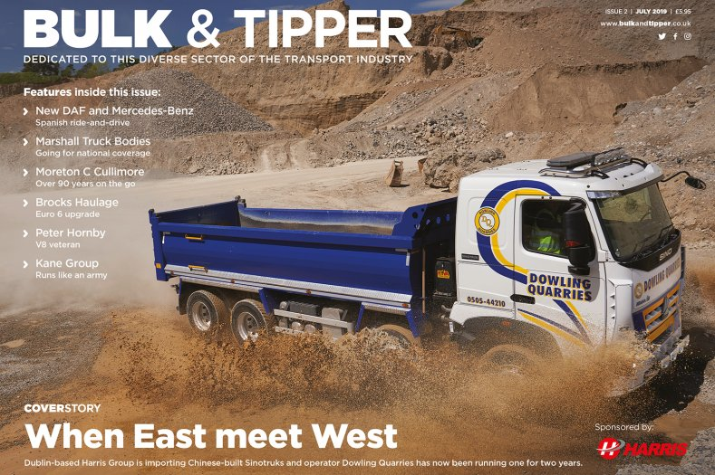 Bulk & Tipper Issue Two: Front Cover