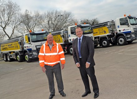 JOST UK supplies Edbro hydraulic systems for 57 aggregate tipper lorries ordered by CEMEX