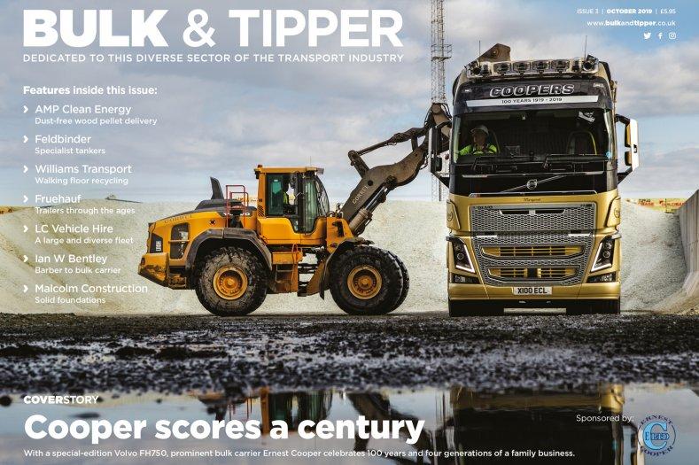 The UK's dedicated transport magazine for the Bulk & Tipper sectors