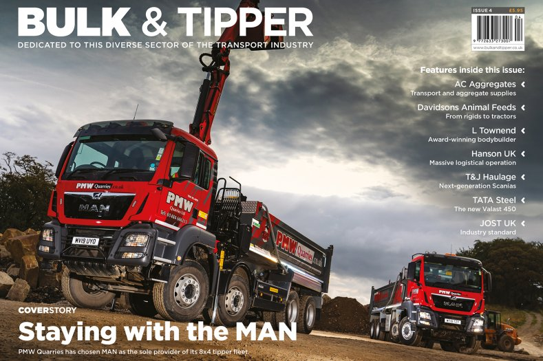 Welcome to the January 2020 Issue of Bulk & Tipper