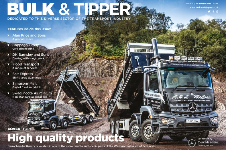 Bulk & Tipper Issue Eleven: Front Cover